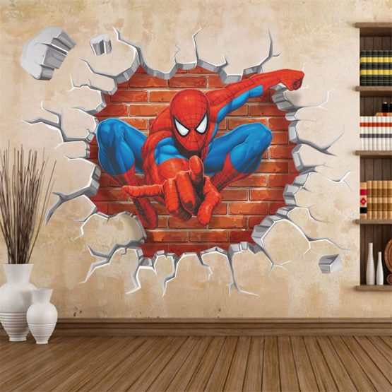 spiderman-muursticker